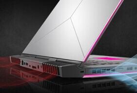 Alienware 15 R3 2017 gaming laptop design