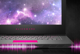 Alienware 15 R3 2017 gaming laptop sounds