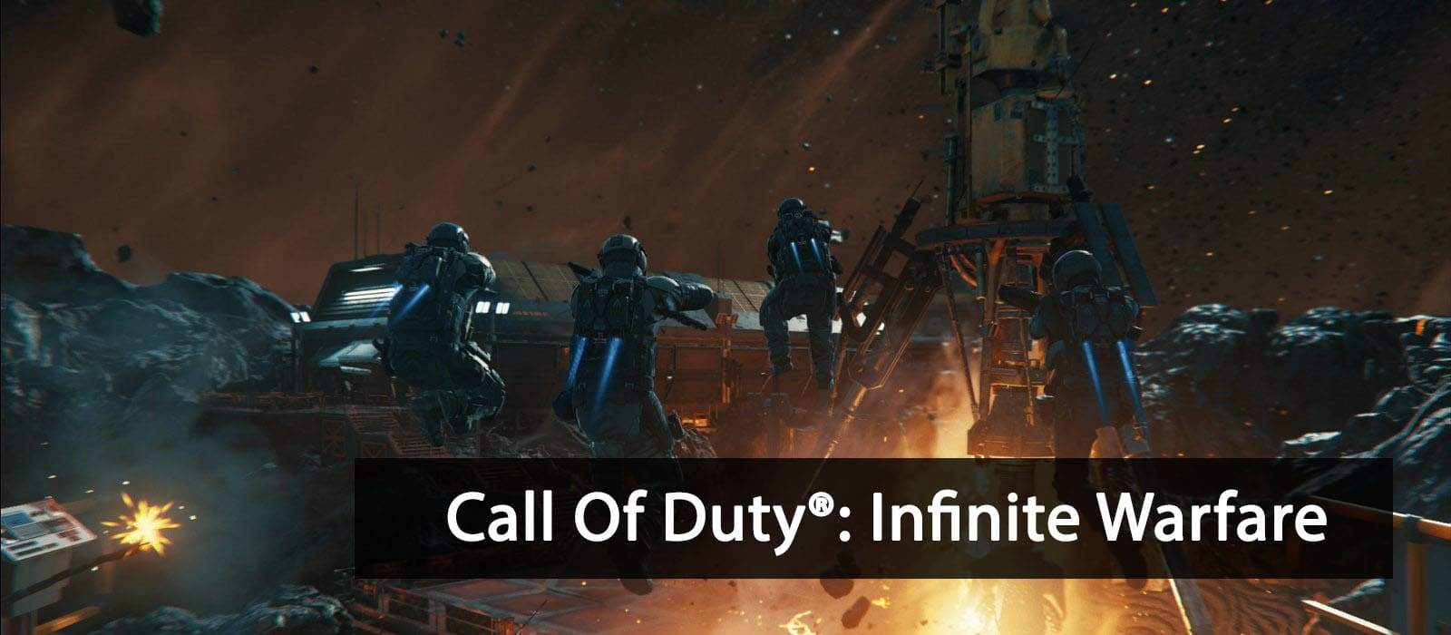 Sony PlayStation 4 Pro Game Call Of Duty: Infinite Warfare