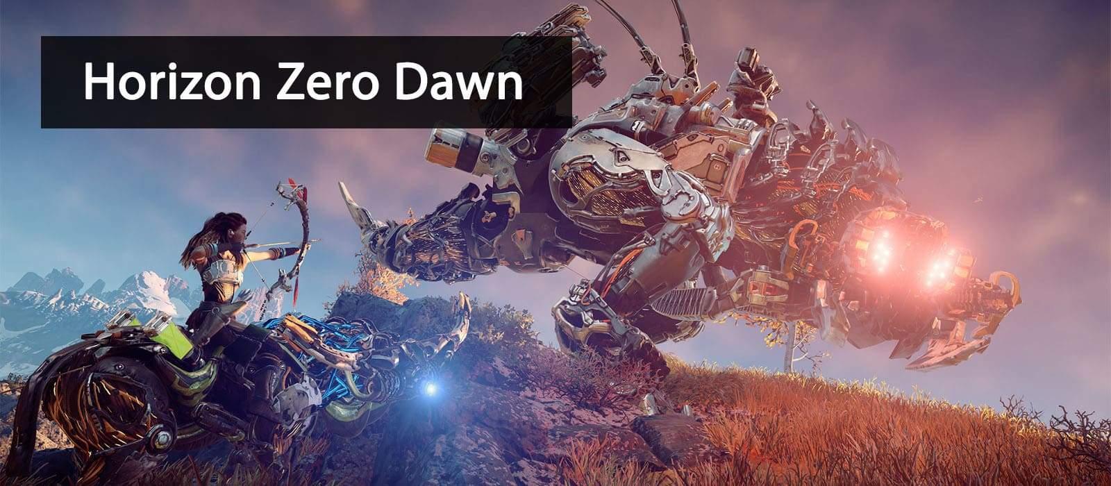 Sony PlayStation 4 Pro Game Horizon Zero Dawn