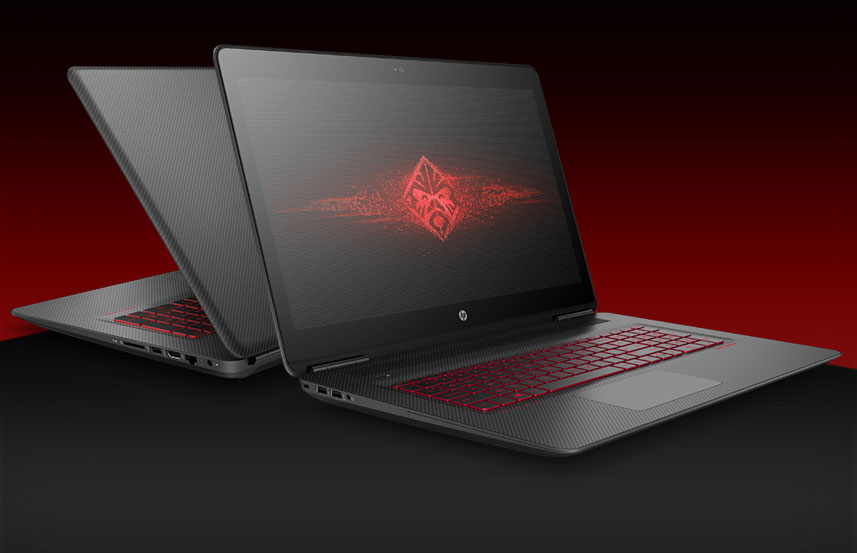 HP Omen 17T 2017 Gaming i7 7700HQ GTX 1050Ti Windows 10