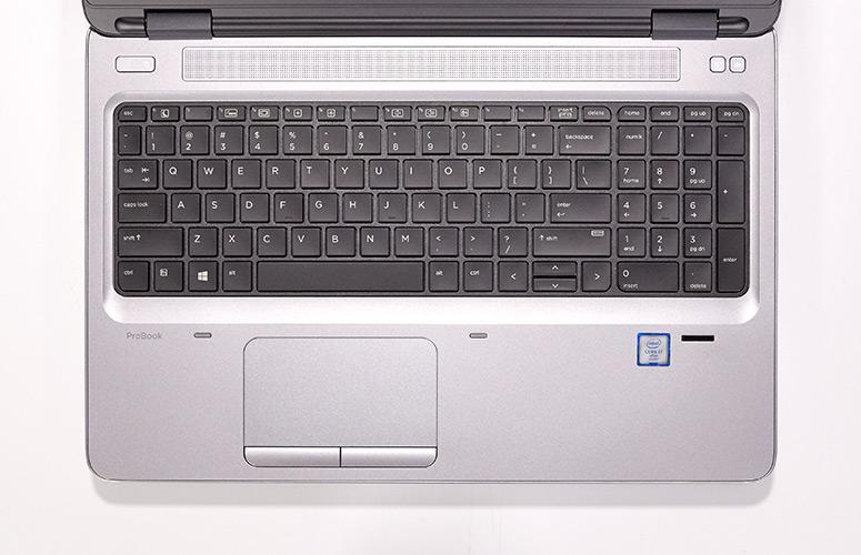 HP Probook 650 G2 bàn phím và touchpad