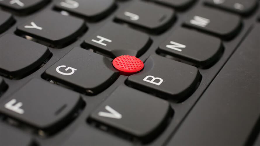 Lenovo ThinkPad X1 Carbon Gen 5 trackpoint