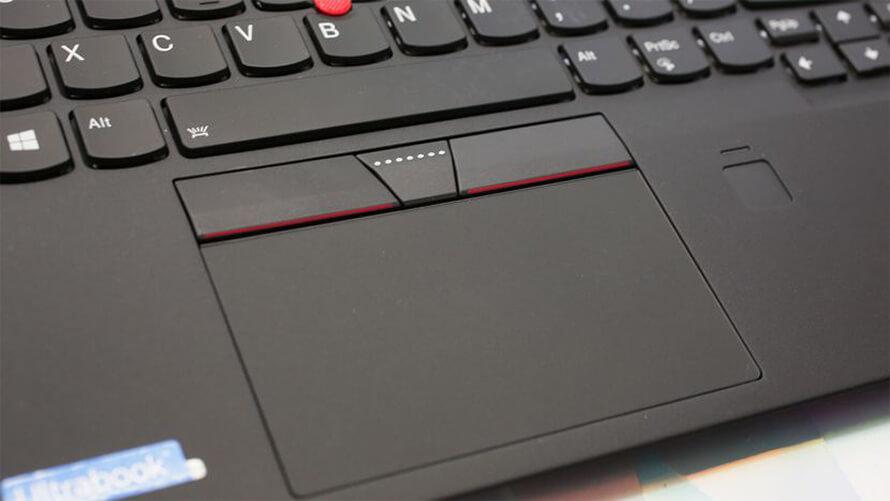 Lenovo ThinkPad X1 Carbon Gen 5 touchpad