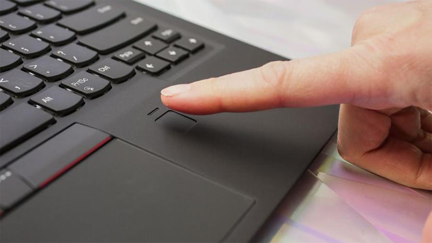 Lenovo ThinkPad X1 Carbon Gen 5 fingerprint