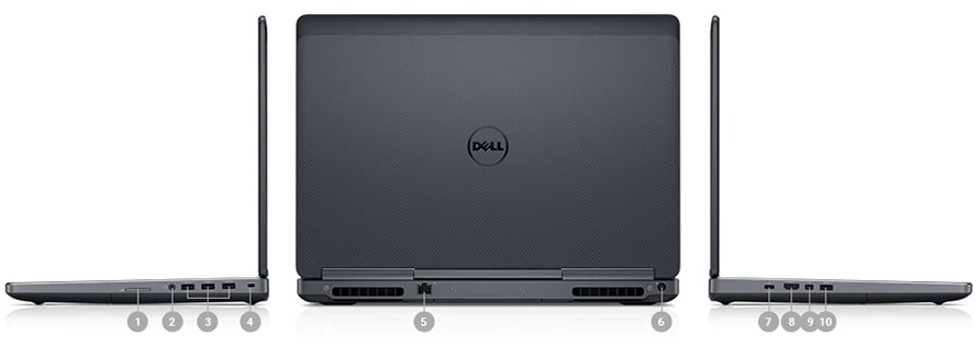 New Workstation Dell Precison 7520 7