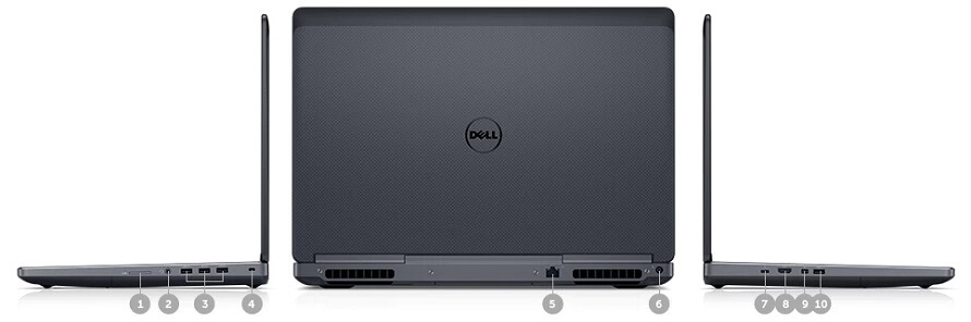 Workstation Dell Precision 7720 review 7