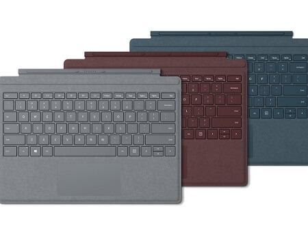 Bàn phím Surface Type Cover Xám, Đỏ, Xanh