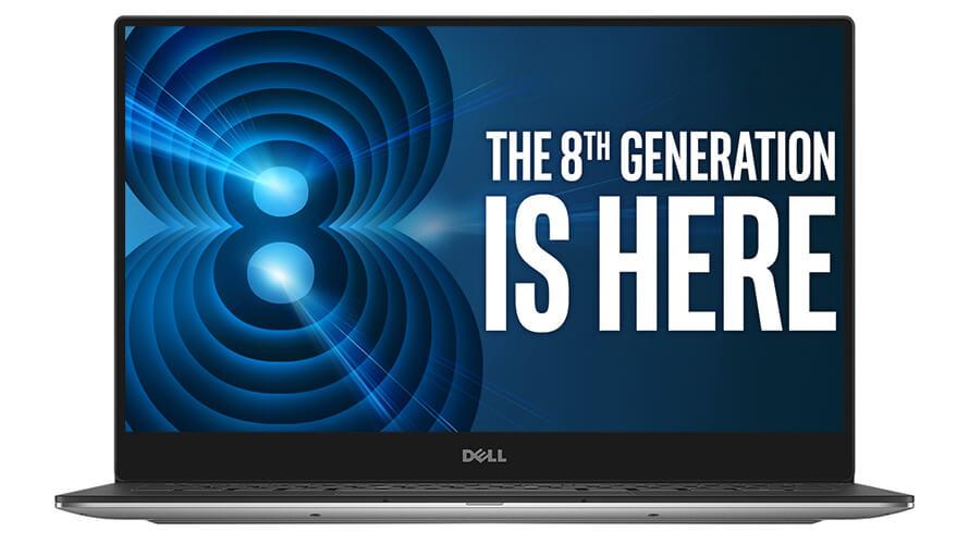 New Dell XPS 13 9360 8th Gen Intel®