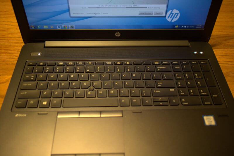 HP ZBook 15 G3 máy trạm di động