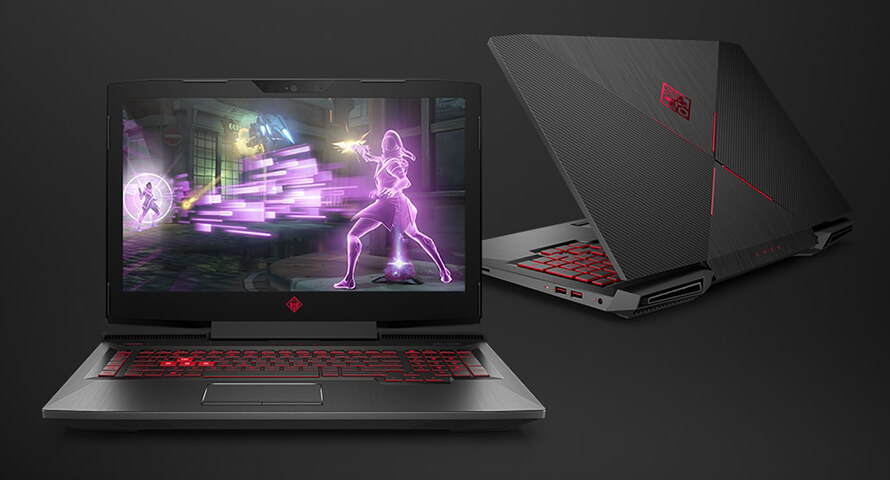 New HP Omen 17t 2017 New Design - Core i7 7700HQ, GTX 1050Ti, GTX 1070
