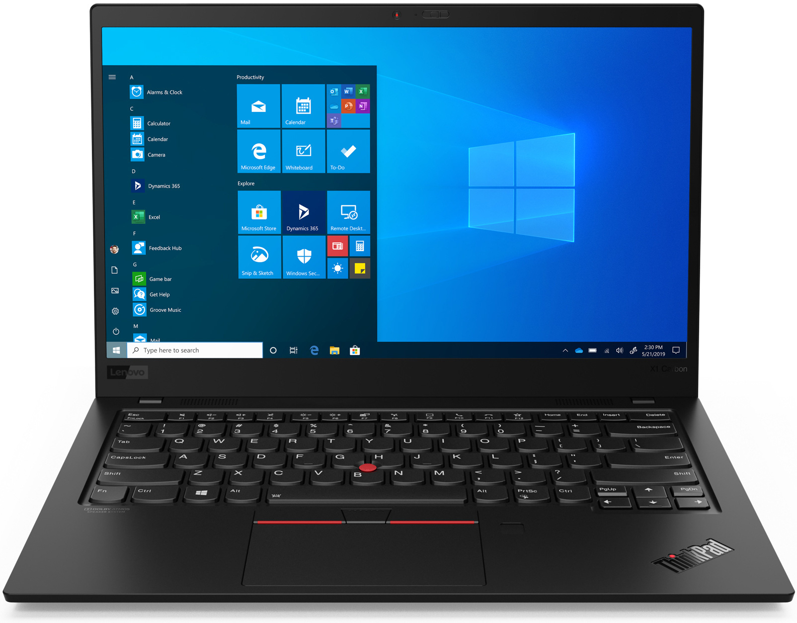 Lenovo ThinkPad X1 Carbon Gen 8 14 inch Windows 10