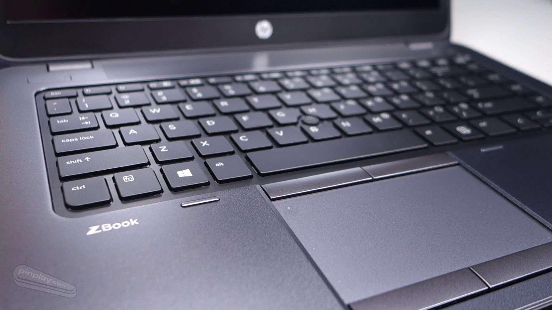 HP ZBook 14 E2P26AV bàn phím trải nghiệm tốt