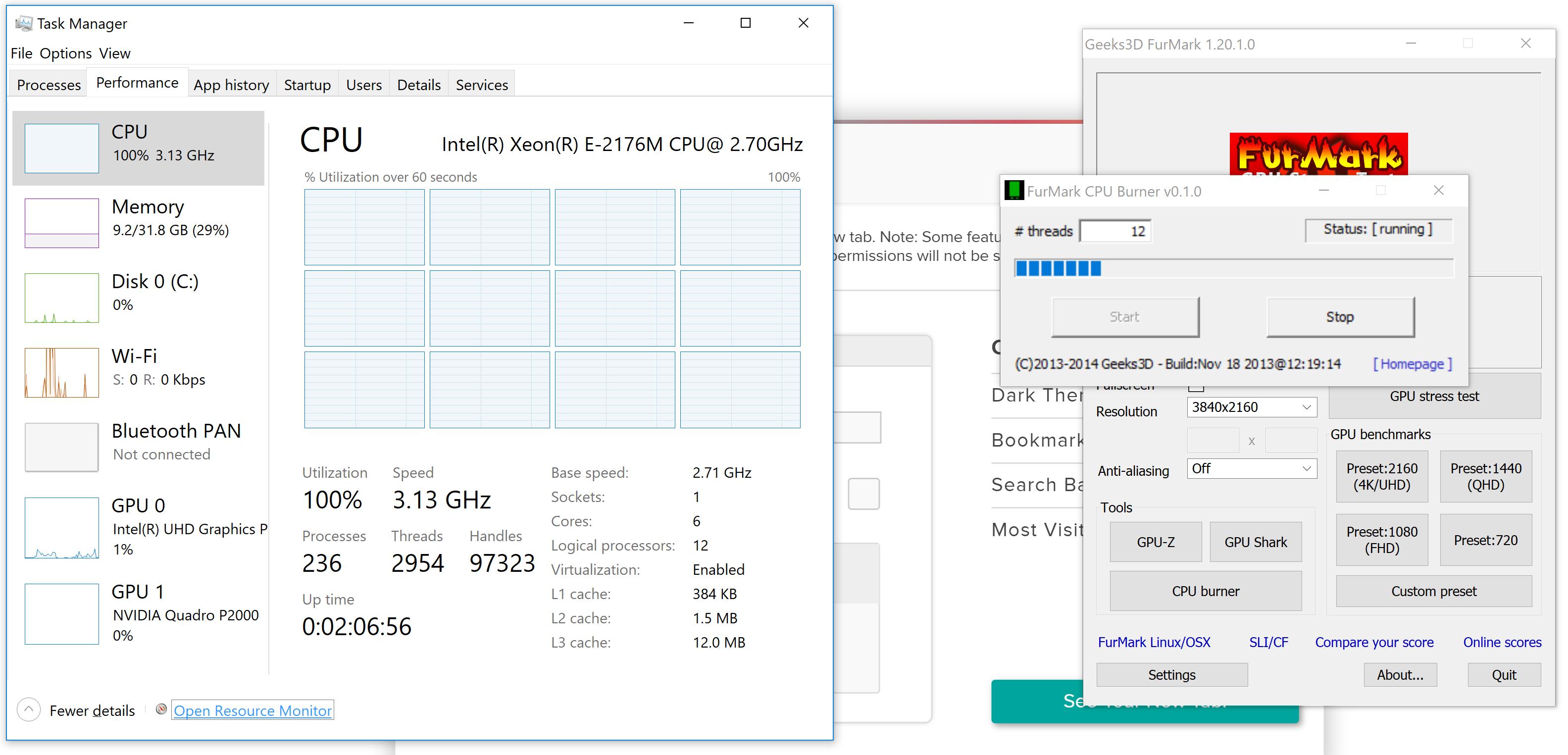New Dell Precision 5530 15.6 inch HD Windowns 10