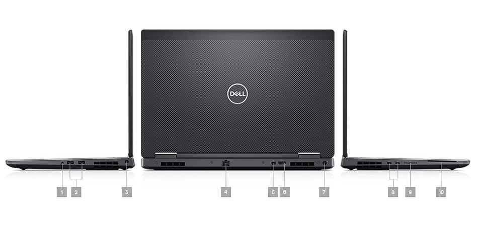 New Dell Precision 7530 15.6 inch HD Windowns 10