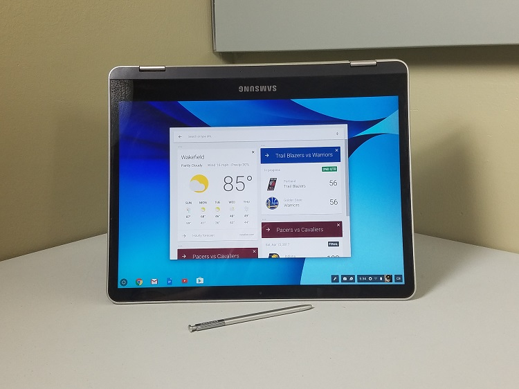 "Samsung Chromebook Plus 4GB 32SSD 12.3"" 2400*1600 Touch Sliver"