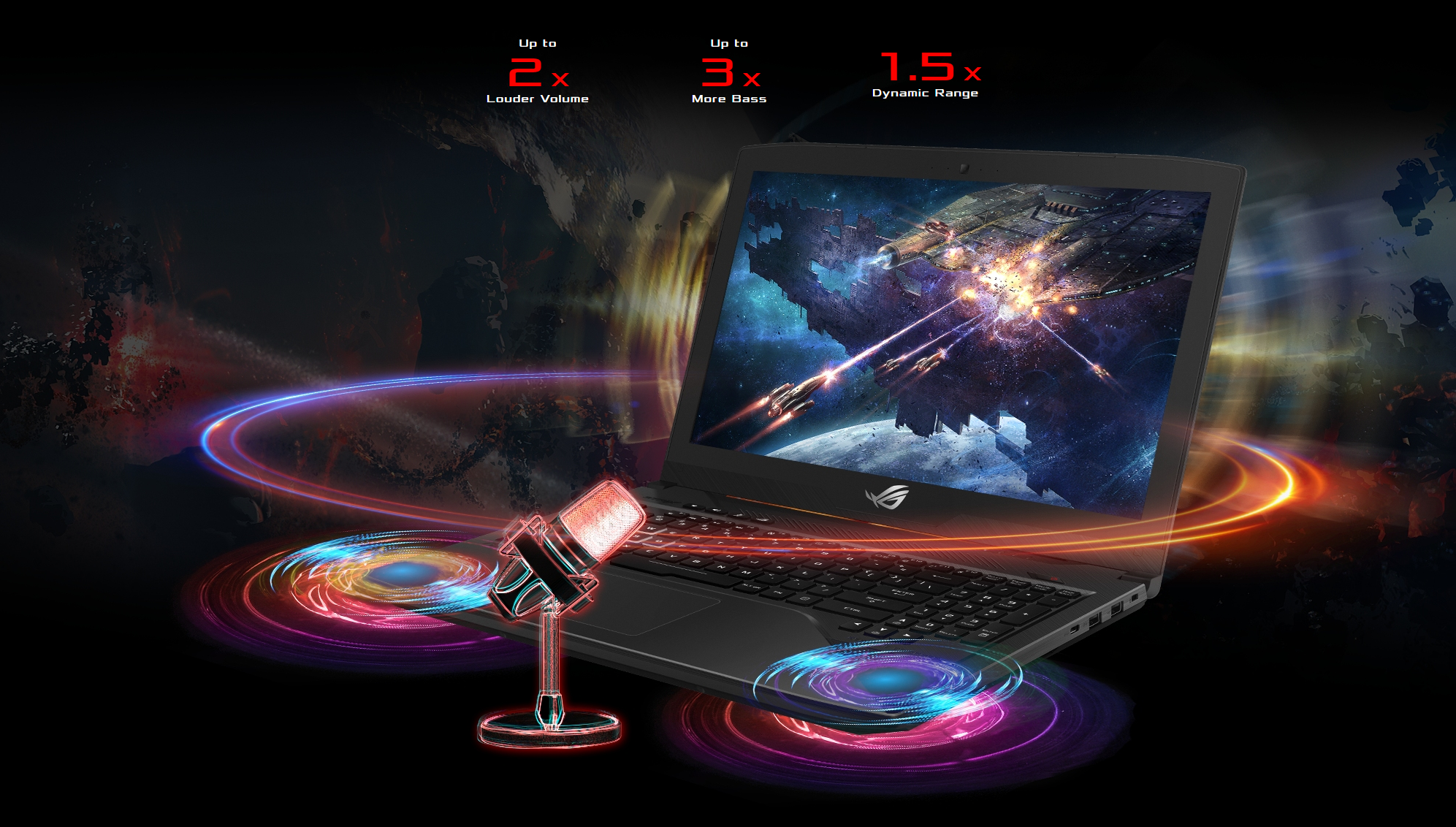 Asus ROG Strix SCAR GL503GE-EN021T Core i7-8750H 8GB 128GB SSD + 1TB HDD GeForce GTX 1050Ti 15.6 FHD Windows 10