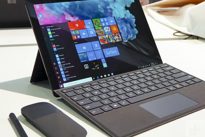 Microsoft Surface Pro 6 2018 12.3 inch Touch-Screen Platinum