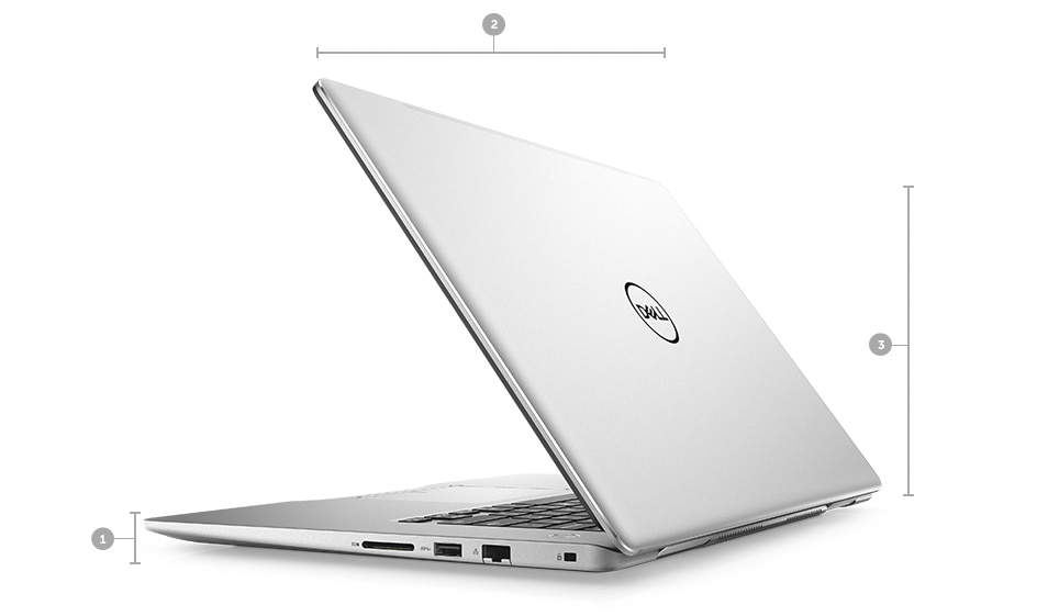 Dell Inspiron 7580 Core i7-8565U 16GB 512GB SSD 15,6 inch FHD Nvidia Mx150 Windows 10 Pro
