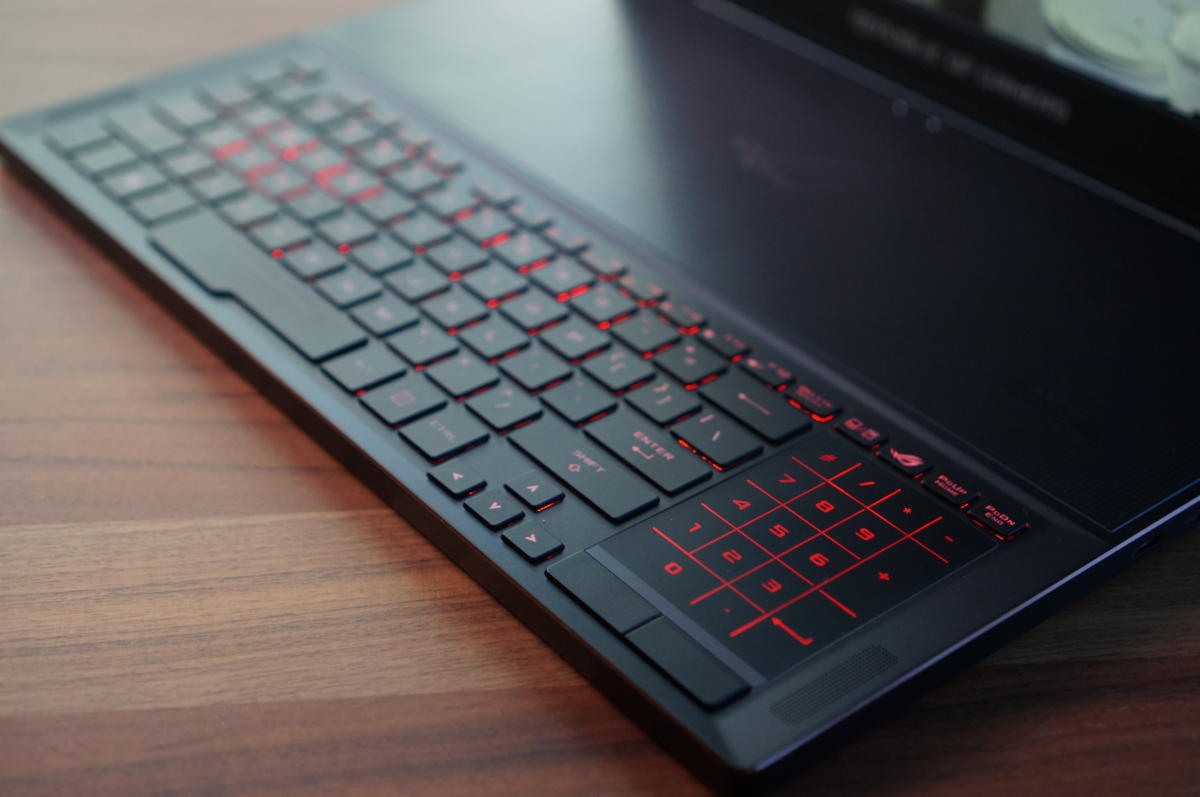 Asus ROG ZEPHYRUS GX501GI-XS74 SLIM GAMING Core i7-8750H 512GB 16GB 15.6 inch FHD (1920x1080) NVIDIA® GTX 1080 Windows 10