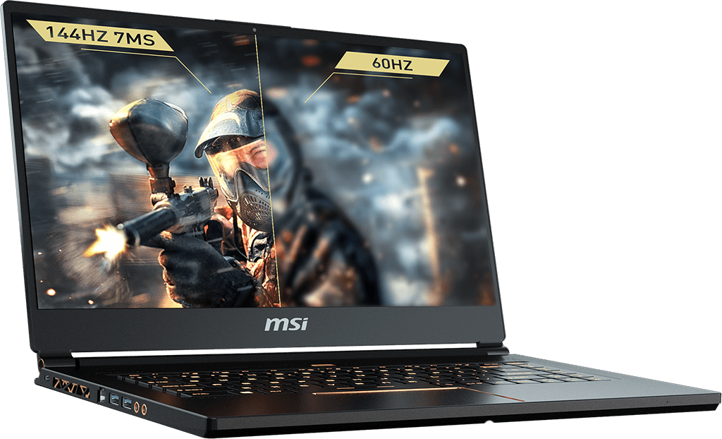 "MSI GS65 Stealth Ultra Thin Gaming Core i7 8750H 15.6"" 16GB 512GB SSD 15.6 inch FHD NVIDIA GeForce GTX 1070 Win 10"