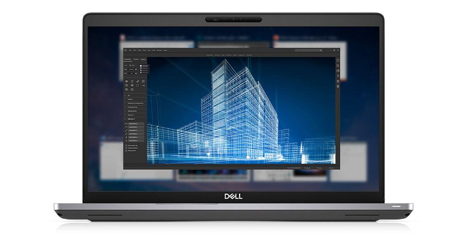 New Dell Precision 3541 Core i7 9750H 16GB 512GB SSD Quadro 620 15.6 inch FHD Windows 10