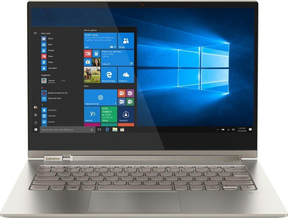 Lenovo Yoga C930 2-in-1 13.9 inch Core i7 16GB 512GB SSD Windows 10 Pro - Iron Gray
